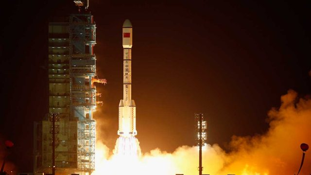Blast off ... Argosy's share price rocketed on back of China deal. Pic: Getty