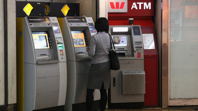 Withdrawal ... IMF Bentham could end up extracting some cash from Commonwealth Bank. Picture: Getty