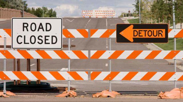 Roadblock, Getty