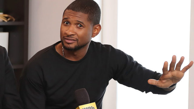 Pop star Usher is the face of MSM's Megastar talent competition.