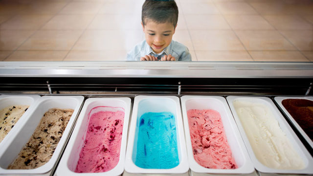 Tough decision on ice cream flavours. Pic: Getty