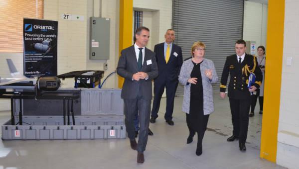 Senator Linda Reynolds visits Orbital Corporation ASX:OEC