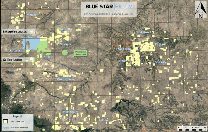 blue star helium leases